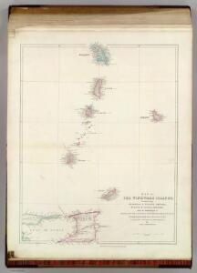 Map of the Windward Islands.