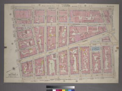 Plate 23, Part of Section 2: [Bounded by Broadway, (St. Marks Place) E. 8th Street, Second Avenue and E. Houston Street.]