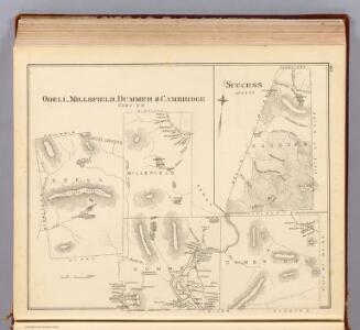Odell, Millsfield, Dummer, Cambridge.