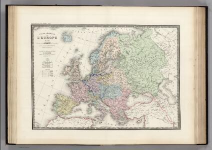 L'Europe en 1789.