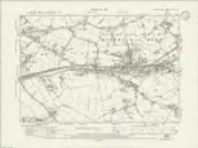 Lancashire CVII.SW - OS Six-Inch Map