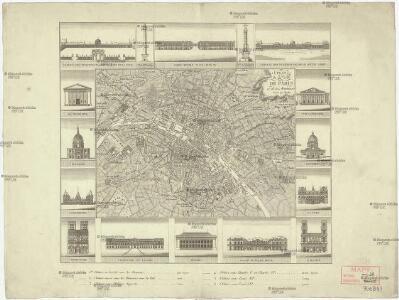 Plan de la ville de Paris et de ses monumens