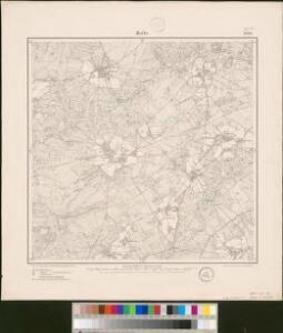 Meßtischblatt 1658 : Holte, 1900