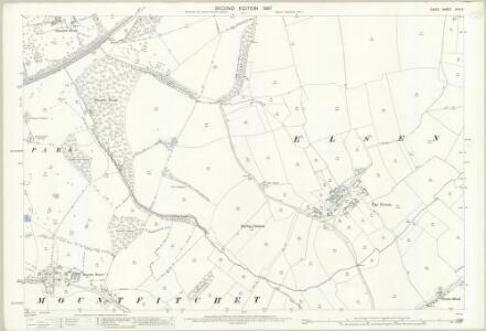 Essex (1st Ed/Rev 1862-96) XXIII.5 (includes: Elsenham; Stanstead Mountfitchet) - 25 Inch Map