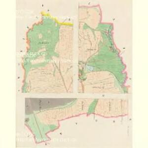 Hracholusk - c2326-1-001 - Kaiserpflichtexemplar der Landkarten des stabilen Katasters