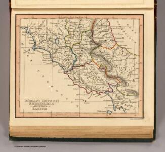 Romani Imperii, Latium.