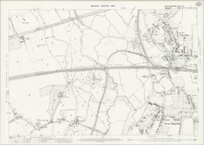 Buckinghamshire LVII.1 (includes: Iver; Uxbridge; Yiewsley and West Drayton) - 25 Inch Map