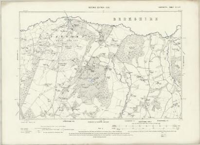 Hampshire & Isle of Wight II.SE - OS Six-Inch Map
