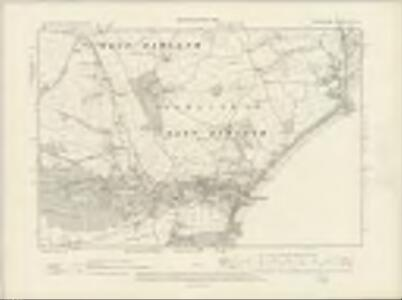 Devonshire CII.SE - OS Six-Inch Map