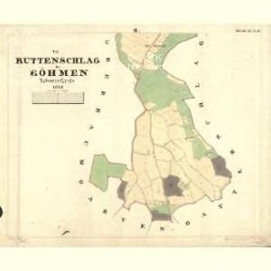 Ruttenschlag - c2379-1-002 - Kaiserpflichtexemplar der Landkarten des stabilen Katasters