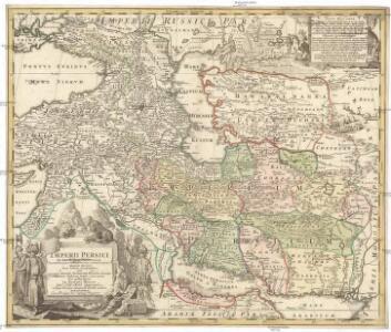 Imperii Persici in omnes suas provincias (tam veteribus quam modernis earundem nominibus signatas) exacte divisi nova tabula geographica