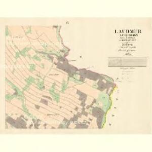 Laudmer (Lubomerz) - m1641-1-003 - Kaiserpflichtexemplar der Landkarten des stabilen Katasters