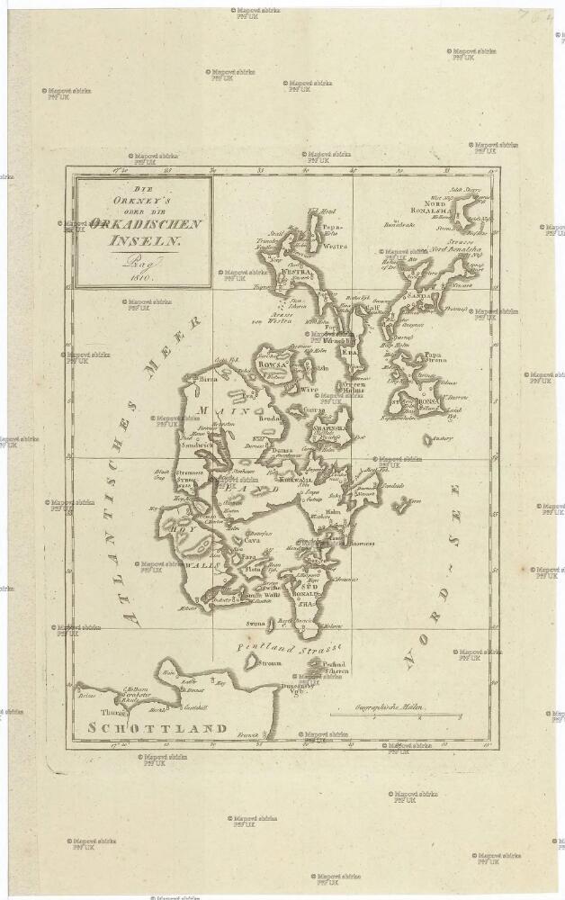 Die Orkney S Oder Die Orkadischen Inseln