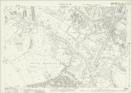 Surrey VIII.14 (includes: Croydon St John The Baptist; Lambeth St Mary) - 25 Inch Map