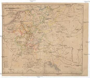 Deutschland nach seiner Eintheilung in zehn Kreise