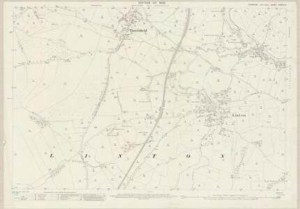 Yorkshire CXXXIV.9 (includes: Grassington; Linton; Thorpe; Thresfield) - 25 Inch Map