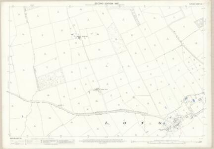 Durham LVI.1 (includes: Long Newton; Sadberge) - 25 Inch Map