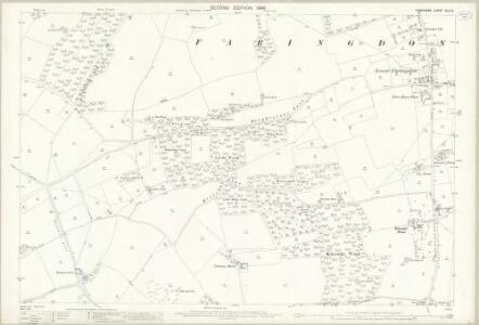 Hampshire and Isle of Wight XLIII.2 (includes: Farringdon; Four Marks; Newton Valence) - 25 Inch Map