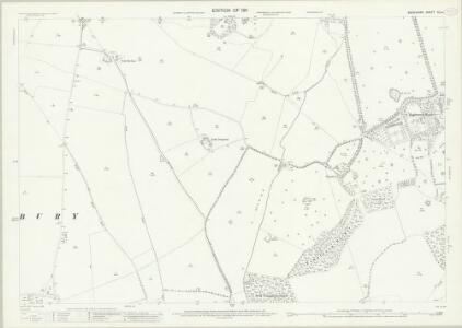Berkshire XLI.4 (includes: Hungerford; Inkpen; Kintbury) - 25 Inch Map