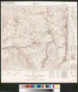Meßtischblatt 5443 : Buchholz, 1944