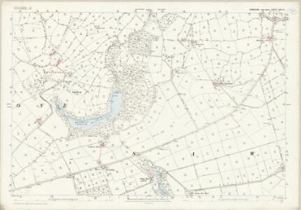 Yorkshire CXVIII.15 (includes: Eavestone; Sawley; Skelding) - 25 Inch Map