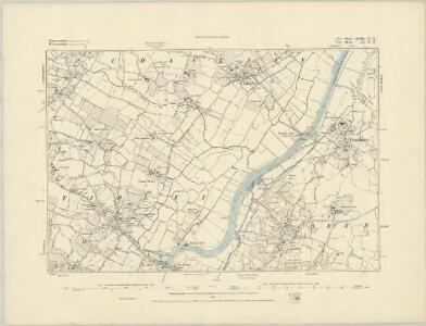 Gloucestershire XVIII.SE - OS Six-Inch Map