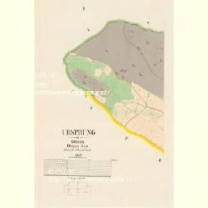 Ursprung - c5867-1-001 - Kaiserpflichtexemplar der Landkarten des stabilen Katasters