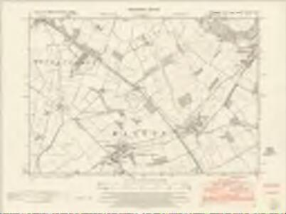 Yorkshire CXCIII.NE - OS Six-Inch Map
