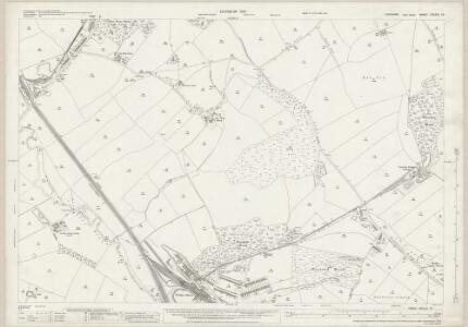 Yorkshire CCLXII.10 (includes: Darton; Woolley) - 25 Inch Map