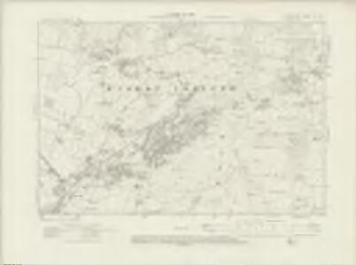 Lancashire XI.NW - OS Six-Inch Map