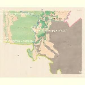 Lesnitz - m1497-1-004 - Kaiserpflichtexemplar der Landkarten des stabilen Katasters