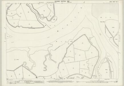 Essex (1st Ed/Rev 1862-96) XXX.10 (includes: Great Oakley; Thorpe Le Soken) - 25 Inch Map