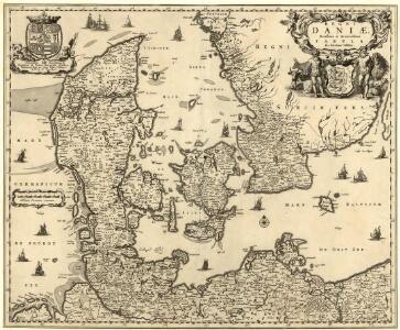 Regni Daniae Novißima et Accuratißima Tabula