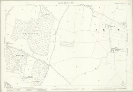 Berkshire XXVI.11 (includes: Chaddleworth; Leckhampstead; Welford) - 25 Inch Map