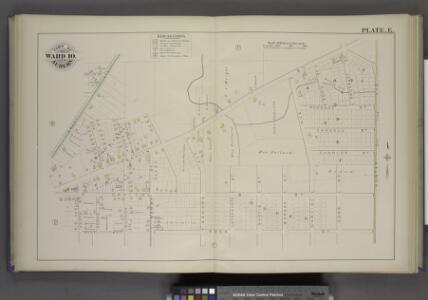 Parts of the City Auburn. Wards 10.