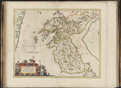 Knapdalia Provincia que sub Argathelia censetur, [vel], The Province of Knapdail which is accounted a member of Argyll. Auct. Timoth. Pont.