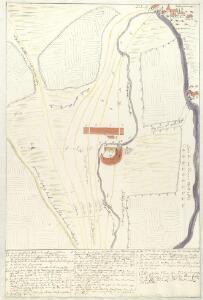 Oettingscher Plan, der blutig dencontre so d. 19. Aug. 1726 zwischer vom fürstl. u. gr. ottingl. und Nördlingl. der gefallen