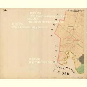 Hoeflein - m0703-1-012 - Kaiserpflichtexemplar der Landkarten des stabilen Katasters