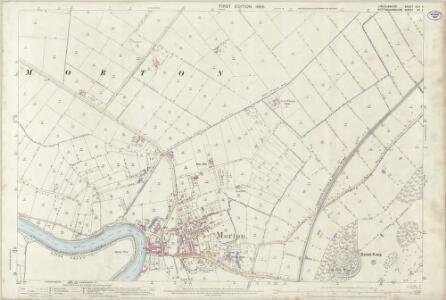 Lincolnshire XLII.4 (includes: Blyton; Gainsborough; Morton; Thonock; Walkeringham; Walkerith) - 25 Inch Map