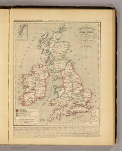 Angleterre, Ecosse, Irlande et Man 1100 a 1280.