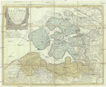 Charte von Zeeland nebst dem Antheil der General Staaten an Flandern, worauf der Lauf der Schelde von Antwerpen bis zu ihrem Ausfluß zu sehen ist