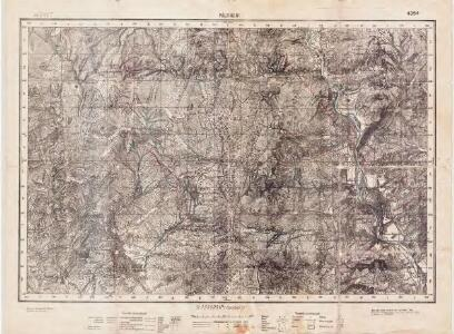Lambert-Cholesky sheet 4354 (Păltineni)