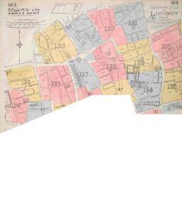 Insurance Plan of London Vol. VI: Key Plan 1