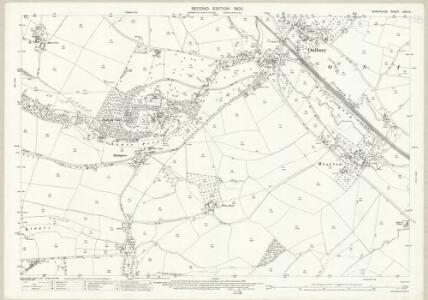 Shropshire LXXI.13 (includes: Bromfield; Onibury; Stokesay) - 25 Inch Map