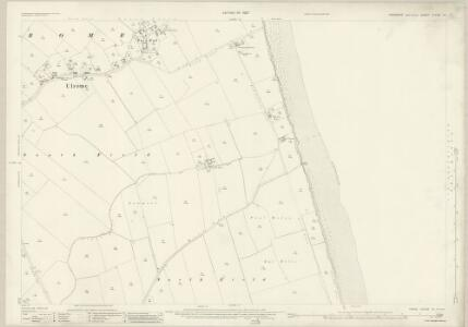 Yorkshire CLXIII.14 (includes: Skipsea; Ulrome) - 25 Inch Map