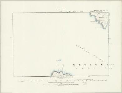 Caernarvonshire XLVI.SW - OS Six-Inch Map