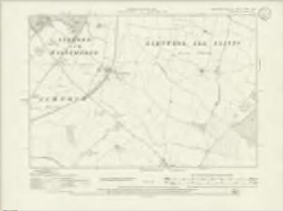 Northamptonshire XXVII.NW - OS Six-Inch Map