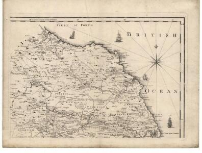 Map of the County of Berwick.