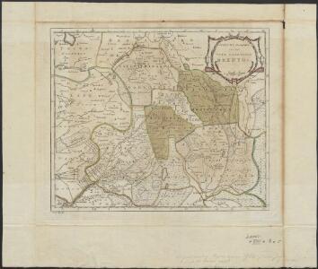 Nieuwe kaart van het vrye landschap Drenthe