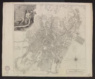 Plan Imperatorskago Stoličnago goroda Moskvy, sočinennoj pod smotreniem architektora Ivana Mičurina v 1739 godu